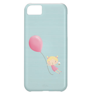 Birthday girl in air cell phone cover iPhone 5C case