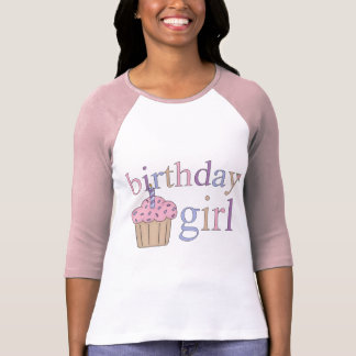 Birthday Girl - Ladie's Raglan T-shirt