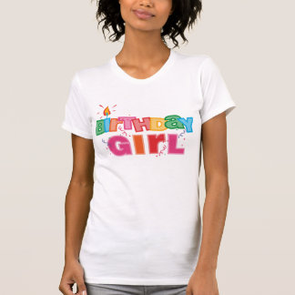 Birthday Girl Letters T-shirt