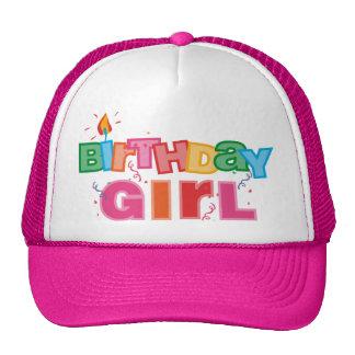 Birthday Girl Letters Trucker Hat
