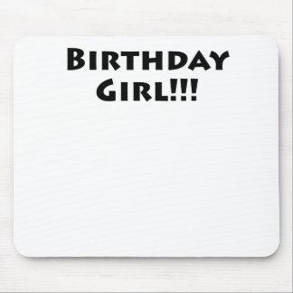 Birthday Girl! Mouse Pad