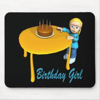 Birthday Girl Mouse Pad