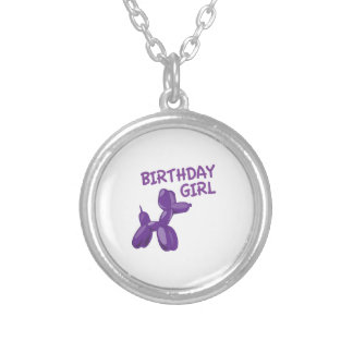 Birthday Girl Personalized Necklace