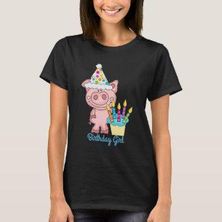 Birthday Girl Pig T-shirt