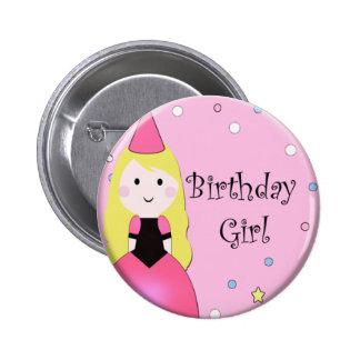 Birthday Girl Pinback Button