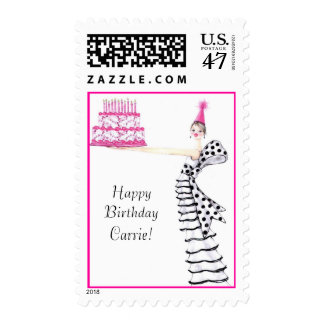 birthday girl postage