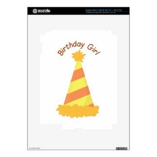 Birthday Girl Decals For iPad 3