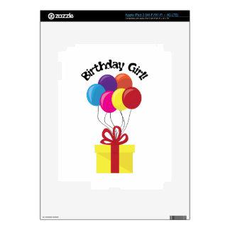Birthday Girl! iPad 3 Skin