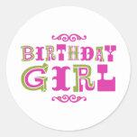 Birthday Girl Sticker