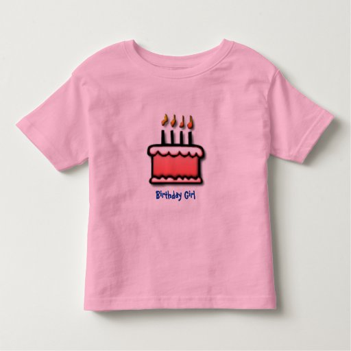 Birthday Girl Toddler T-shirt