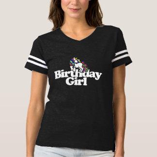 Birthday Girl Unicorn T-shirt