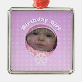 Birthday Girl Winter Onederland ornament