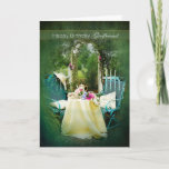 """BIRTHDAY, GIRLFRIEND, CARD<br><div class=""""desc"""">CHARMING ENGLISH COTTAGE GARDEN CARD - SEE ASSORTMENT OF CATEGORIES IN SAME IMAGE</div>"""