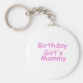 Birthday Girl's Mommy Keychains