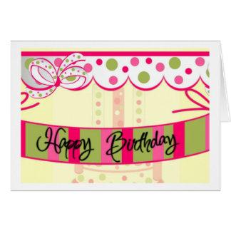 birthday...girly card