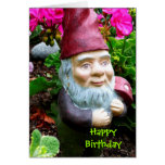 Birthday Gnome Greeting Card