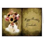 BIRTHDAY - GRANDMOTHER - VINTAGE/FLORAL/BOOK GREETING CARDS