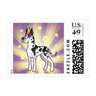 Birthday Great Dane Postage