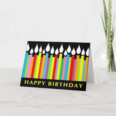 Birthday Greeting Card - Office Co-worker by SquirrelHugger