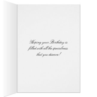 Birthday Greeting Card White Orchids Flower Image