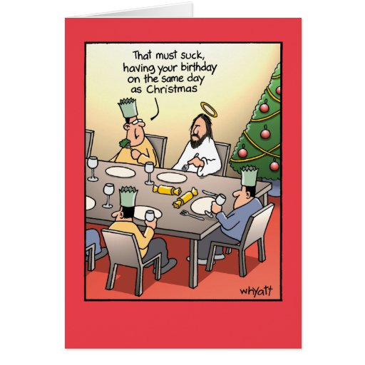 Birthday Greeting Suck Humor Christmas...