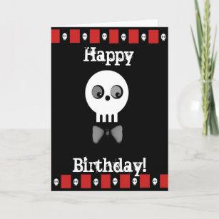 Goth birthday cards zazzle birthday greetings card m4hsunfo