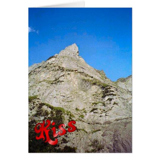 Birthday Greetings - Peak of the Eiger Card