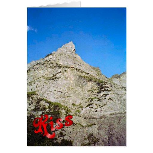 Birthday Greetings - Peak of the Eiger Greeting Card