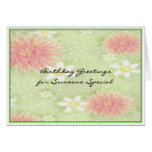 Birthday Greetings - Someone Special Greeting Cards
