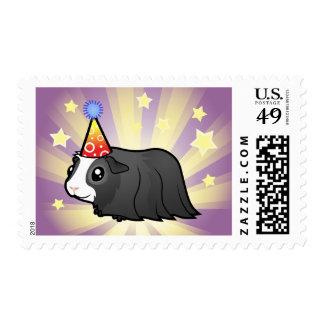 Birthday Guinea Pig (long hair) Postage