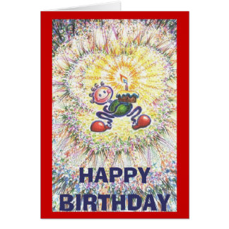 Birthday Guy, HAPPY BIRTHDAY Greeting Card