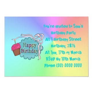 Birthday Happy Birthday 5x7 Paper Invitation Card