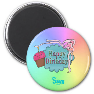 Birthday Happy Birthday Magnet