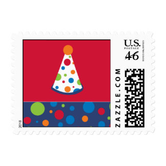 Birthday Hat Fun Stamps