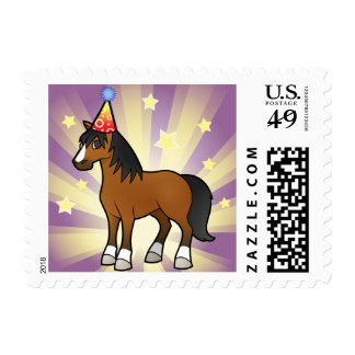 Birthday Horse Postage