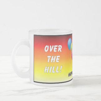 Birthday Humor Over The Hill Mugs