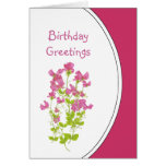 Birthday Humor, Sweet Peas for the Sweetheart Card