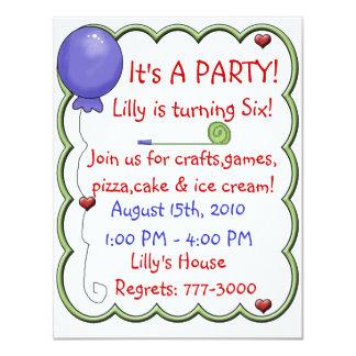 Birthday Invitaion Card
