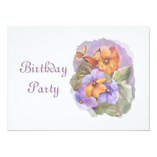 "Birthday invitation 5.5"" x 7.5"" invitation card"