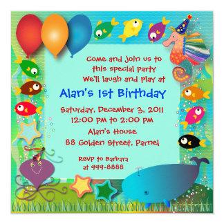 Birthday Invitation: 002 Card