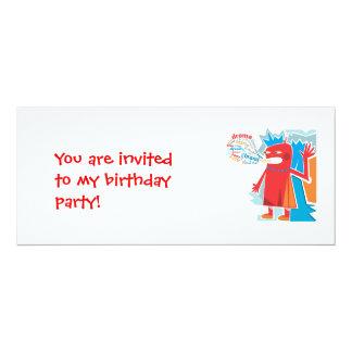 Birthday Invitation Babbler Invitation