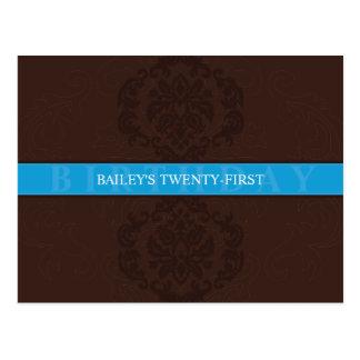 BIRTHDAY INVITATION :: finesse 2 Post Cards