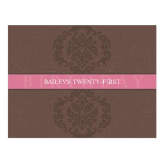 BIRTHDAY INVITATION :: finesse 4 Post Cards