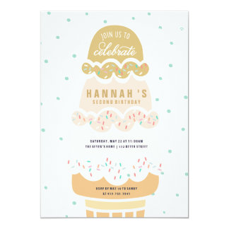 Ice Cream Invitations Announcements Zazzle