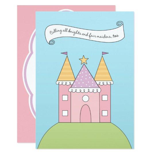 Birthday Invitation   Pink Princess