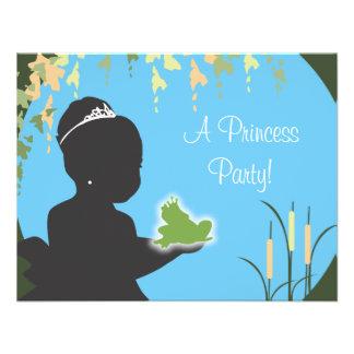 Birthday Invitation - Princess Frog