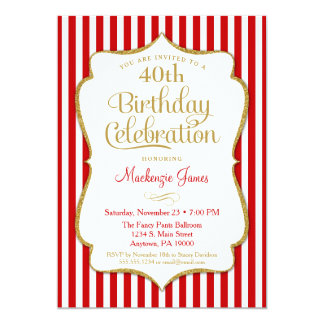 birthday_invitation_red_gold_adult_teen_tween ra08dd44365a8418c8cdbb76f82da42da_zkrqs_324?rlvnet=1 tween birthday invitations & announcements zazzle,Tween Birthday Party Invitations