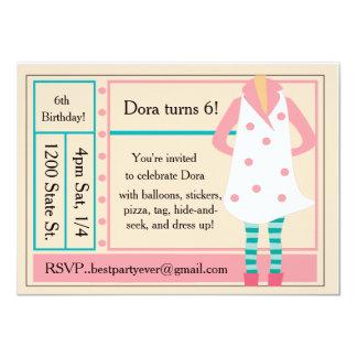 Birthday Invite for Your Sassy Girl!