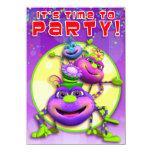 Birthday Invite-Itsy Bitsy Spiders (GiggleBellies) Card