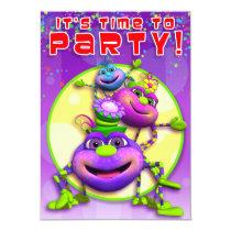 Birthday Invite-Itsy Bitsy Spiders (GiggleBellies) Invitation